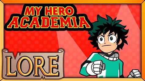 my hero academia 5 8491460969 my hero academia lore in a minute erika harlacher lore youtube