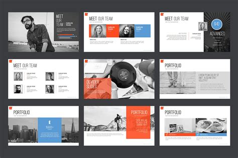 powerpoint templates for advertising agency marketing agency powerpoint template 64617