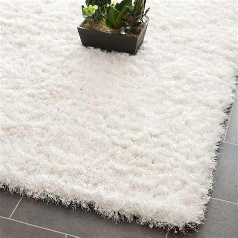 white rugs 8x10 handmade malibu white shag rug 8 x 10