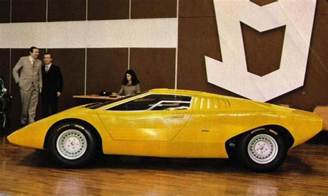 1971 Lamborghini Countach 1971 Lamborghini Countach Prototype Related Infomation