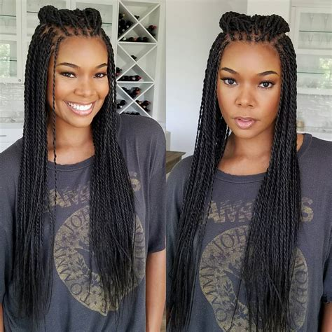 modern hairsyyles in senegal celebrities with senegalese twists www pixshark com