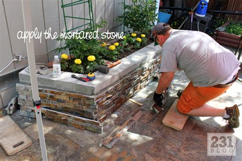 diy pit planter diy slate ledge planter boxes we how to do it