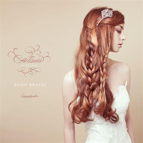Wedding Hair Braid Tutorial by Bridal Hair Tutorial Boho Wedding Braids Hji