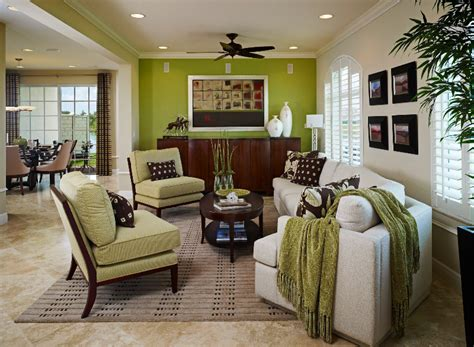 green accent wall a green accent wall becomes the focal point in this trendy