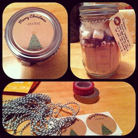 homemade christmas gifts for co workers cute gift ideas
