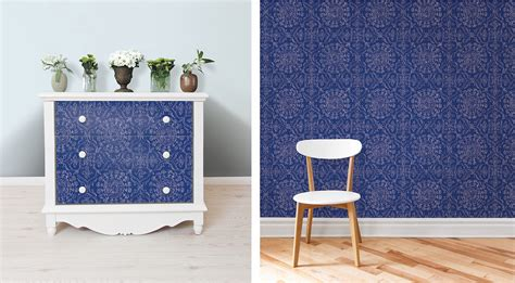 nuwallpaper blue byzantine peel and stick wallpaper sle brewster wallcovering blog inspired by all things