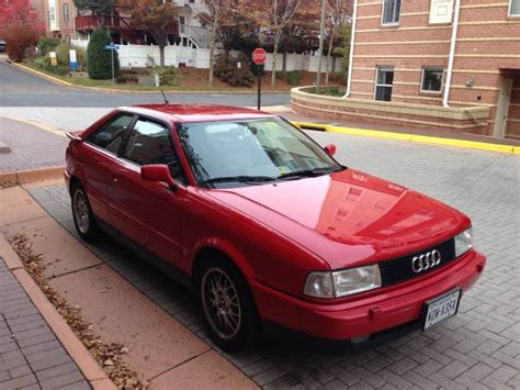 audi coupe 1990 not many left 1990 audi coupe quattro bring a trailer