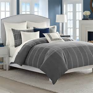 bedroom comforters sets nautica haverdale gray comforter and duvet sets from