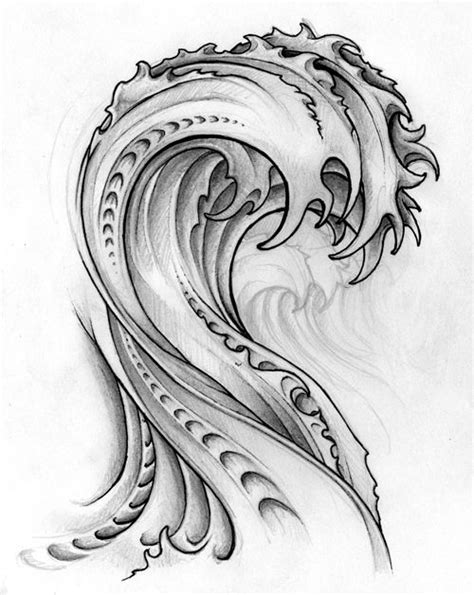 tribal waves tattoo 25 gorgeous tribal wave tattoos ideas on wave