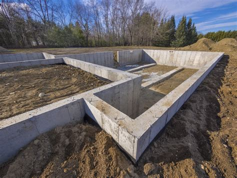 types of foundations for houses the 4 types of foundation found in homes