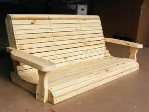 wood patio swing how to make a wooden porch swing image mag