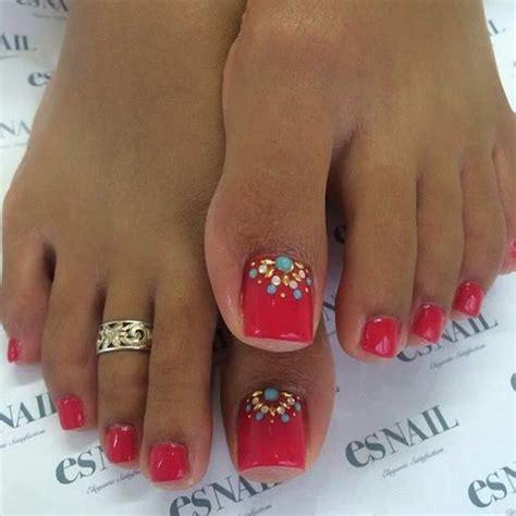 imagenes de uñas decoradas para toda ocasion u 241 as decoradas para pies 55 dise 241 os perfectos para