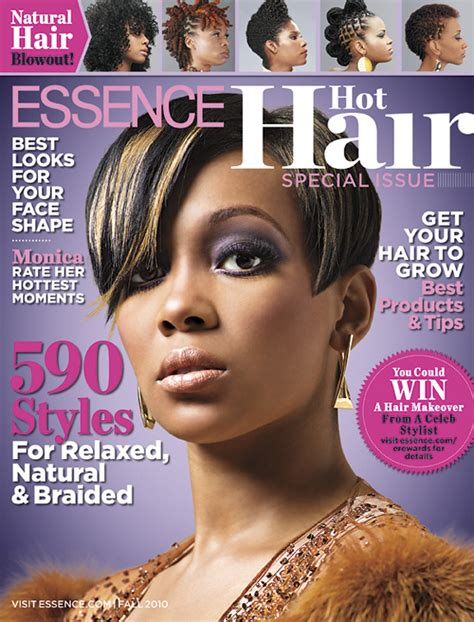 hot atlanta hair styles magazine monica covers essence magazine s hot hair issue