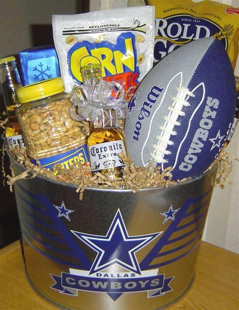 gifts for football fans cowboys fan gift bucket audjiefied fun gift ideas