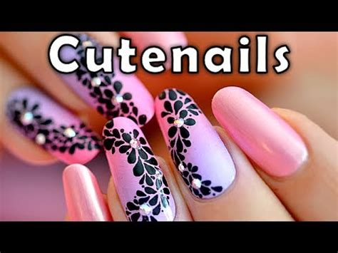 tutorial nail art sendiri fast easy nail art tutorial youtube