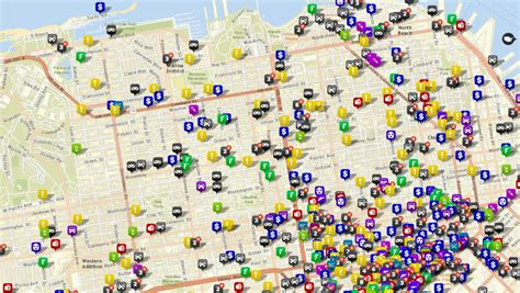 san francisco crime map 2015 neighborhood safety and crime mapping san francisco bay area