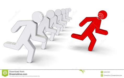 Be The Leader follow the leader clipart