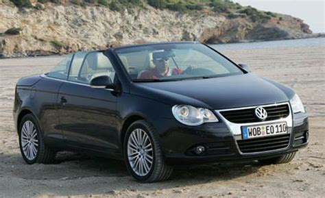 volkswagen eos 2007 car and driver