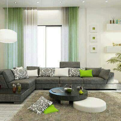 living room decor pinterest sala gris verde salas pinterest