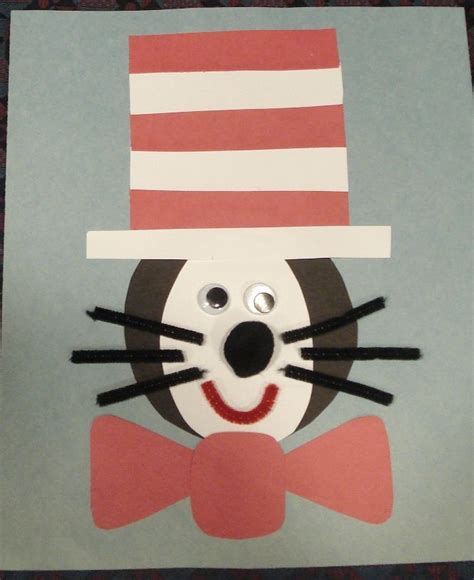 cat in the hat crafts for 1000 images about dr seuss theme pre k on
