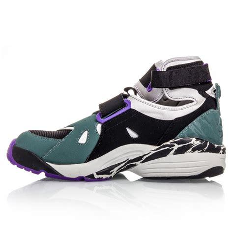 basketball air shoes nike air carnivore mens basketball shoes black green