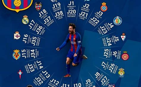 Calendario Dela Liga Espaã Ola 2016 Calendario Fc Barcelona Foro Azulgrana Blaugrana