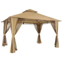 Canopy Tops For Gazebos by El Porto Gazebo Replacement Canopy Garden Winds