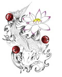 koi tattoo art and designs page 3