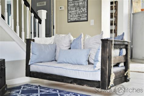 oversized crib mattress 15 diy projects to spruce up your porch