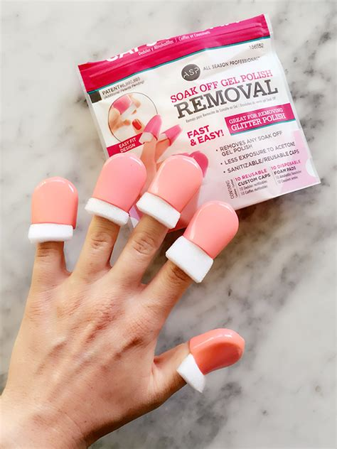 easy way to remove gel nail