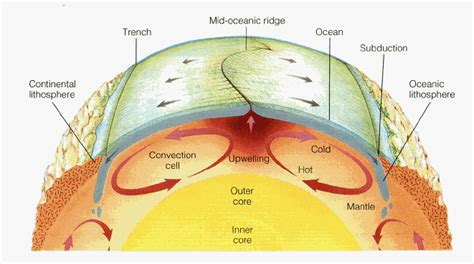 Convection Currents Produce The Heat In The Earth S Interior by Heat And Convection In The Earth
