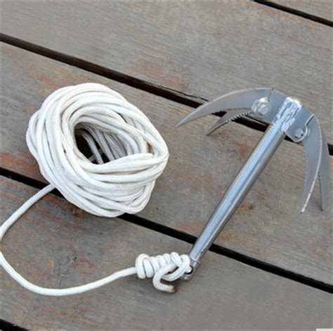 boat anchor rope length new anchor rope fishing tool small boat anchor fishing