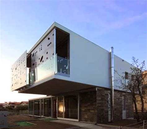 modern  innovative home design combines contemporary  unusual elements    storey