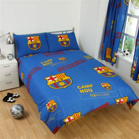 barcelona bedroom set barcelona bedding and bedroom accessories boys football new ebay