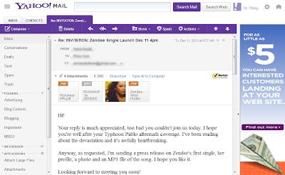 yahoo page layout yahoo mail gets an updated design