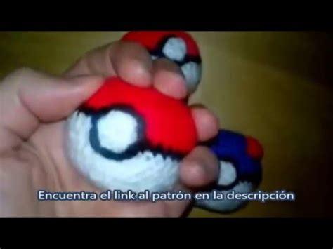 youtube id pattern patr 243 n de pokeball free pokemon pattern amigurumi youtube