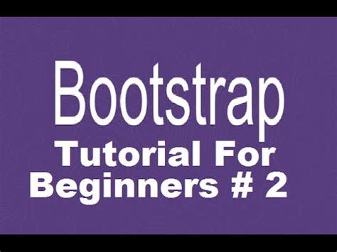 bootstrap tutorial container bootstrap tutorial for beginners 2 bootstrap grid system