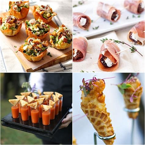 Appetizers For Wedding by Modwedding