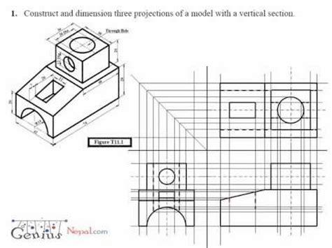 tutorial autocad isometric drawing engineering drawing video tutorial geniusnepal com
