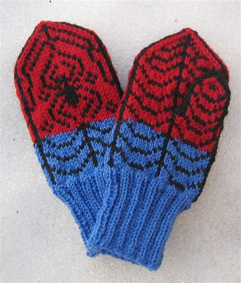 spiderman glove pattern 1433 best free knitting patterns images on pinterest
