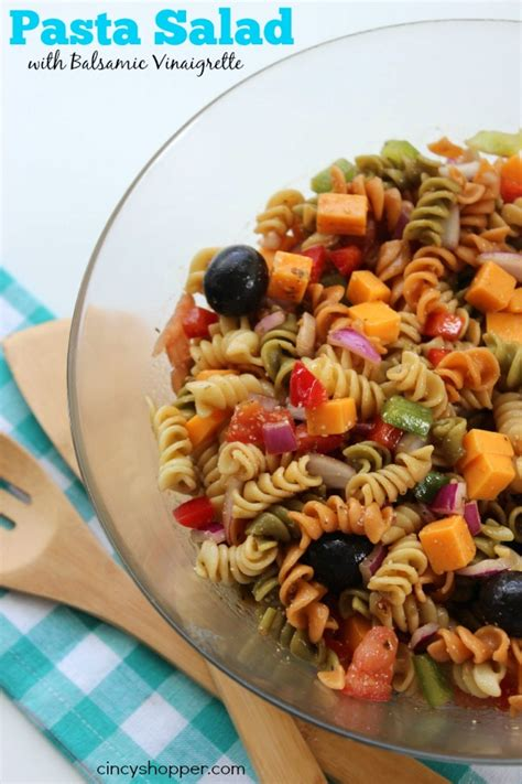 pasta salad dressing recipe pasta salad with balsamic vinaigrette recipe just a