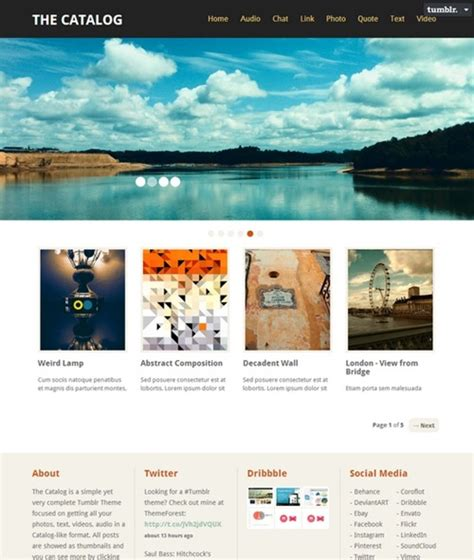themes tumblr site 30 amazing tumblr portfolio themes show off your work