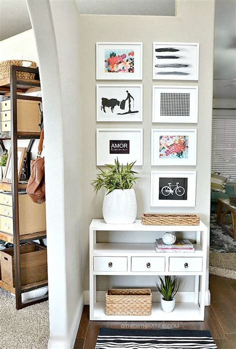 unique home decor ideas    tricky spots  tips