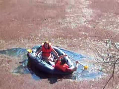 sinking rubber boat heather briley sinking raft youtube