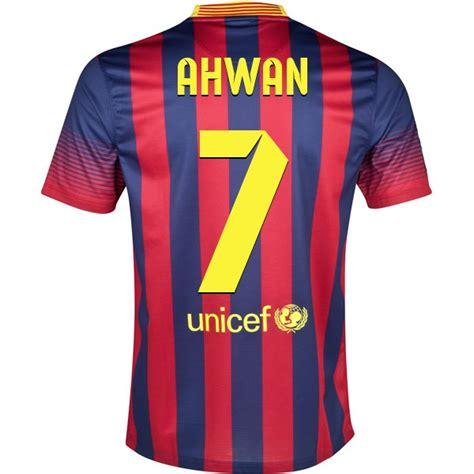 design jersey app design your own fc barcelona soccer jersey ahwan 7