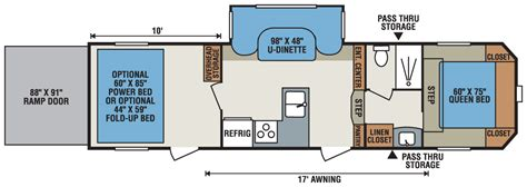 kz toy hauler floor plans 2016 sportsmen sportster 305th fifth wheel toy hauler k z rv