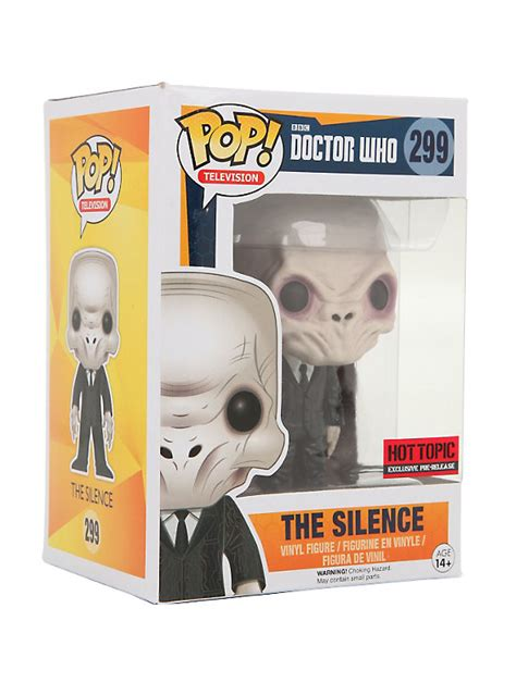 Funko Pop Vinyl Figure Topic Exclusive funko doctor who pop television the silence vinyl figure topic exclusive pre release