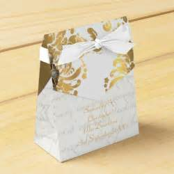 And Gold Wedding Favors by Traditional White Parchmentand Gold Damask Wedding Favor