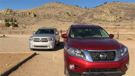 nissan durango 2015 2013 nissan pathfinder vs dodge durango 0 60 mph mile high