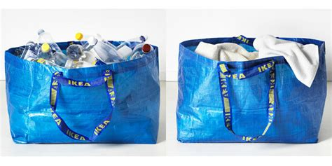 ikea bags ikea frakta shopping bag redesign hay collaboration